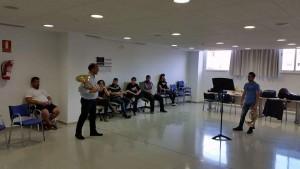 Master Class del Maestro Javier Bonet para la Jove Orquestra Illes Balears