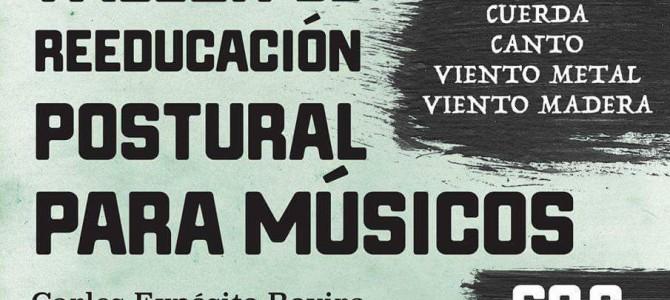 Taller de Reeducación Postural para Músicos. Hayarte Escuela de Música. Málaga '16